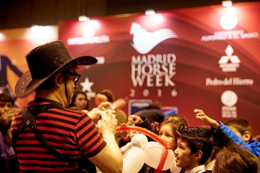 Imagen de la feria Madrid Horse Week