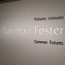 Exposición sobre el arquitecto Norman Foster en Madrid