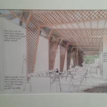 Pieza de la exposición sobre Norman Foster en Madrid