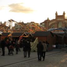 Feria 'La Navideña' 2017, en el Matadero de Madrid
