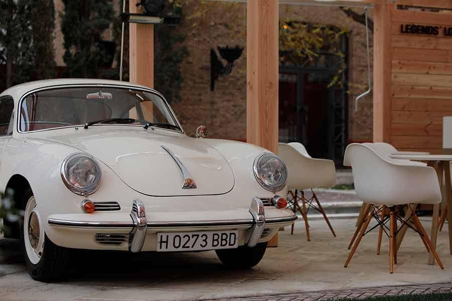 Exposición temporal de Porsche en Madrid