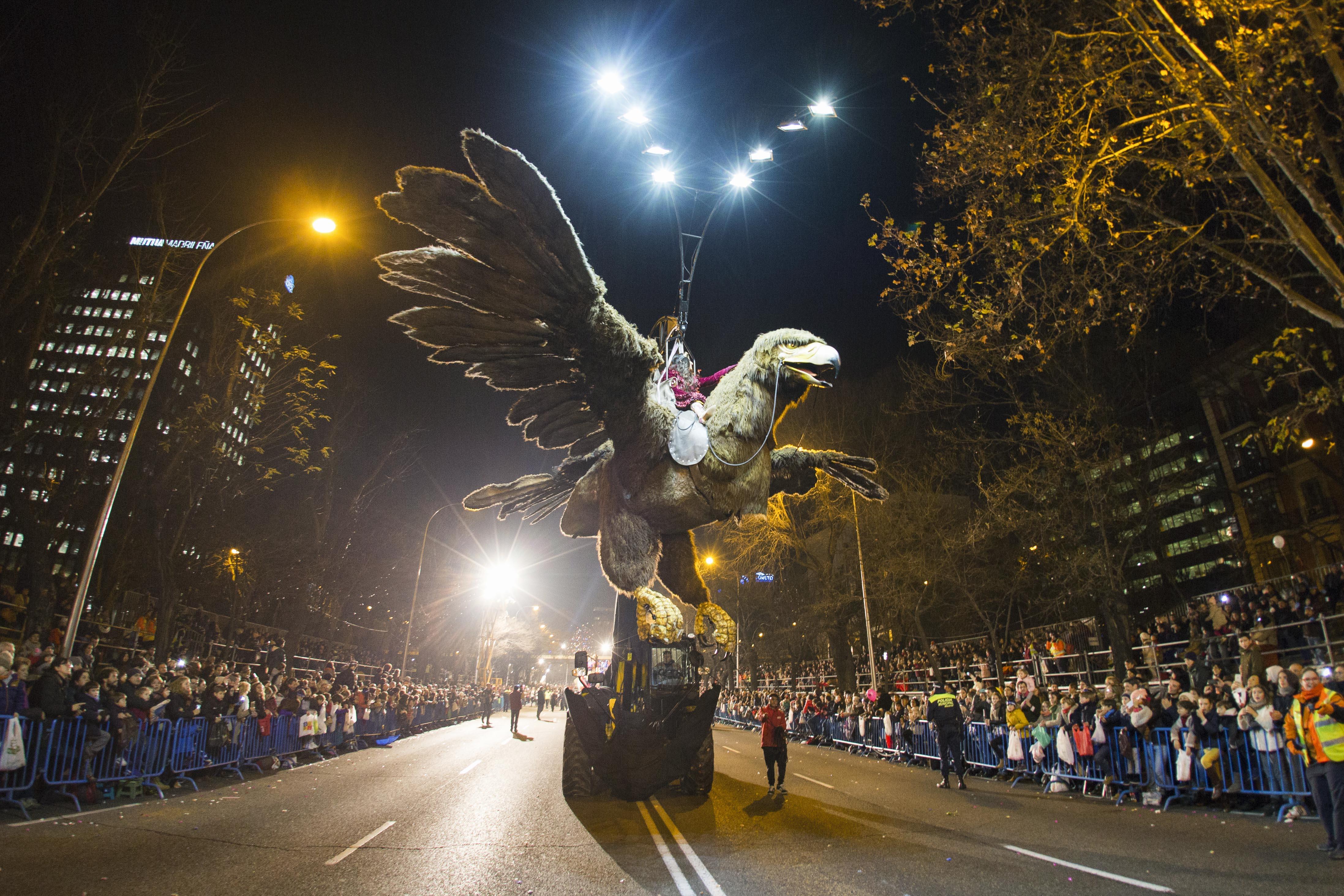 Así es la cabalgata de los Reyes Magos de Madrid