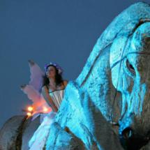 Carros de Fuego en la Cabalgata de Reyes de Torrejón de Ardoz