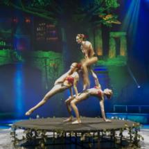 Circo Mágico: contorsionistas