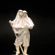 Circo Mágico: estatua dos caras