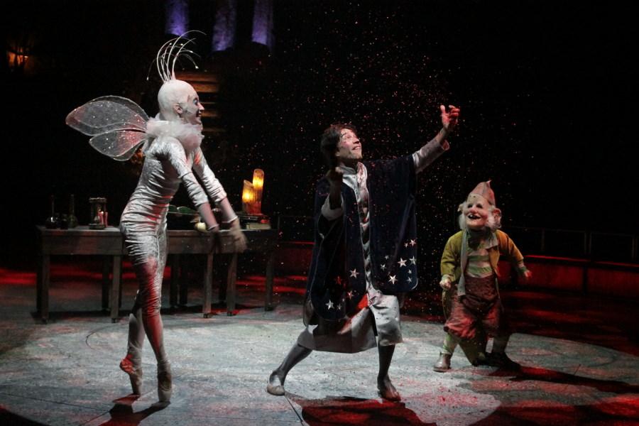 Escena del Circo Mágico