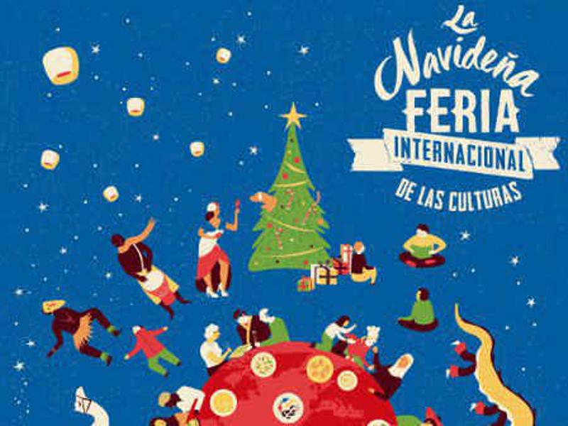 Cartel de la Feria Internacional de las Culturas 2017