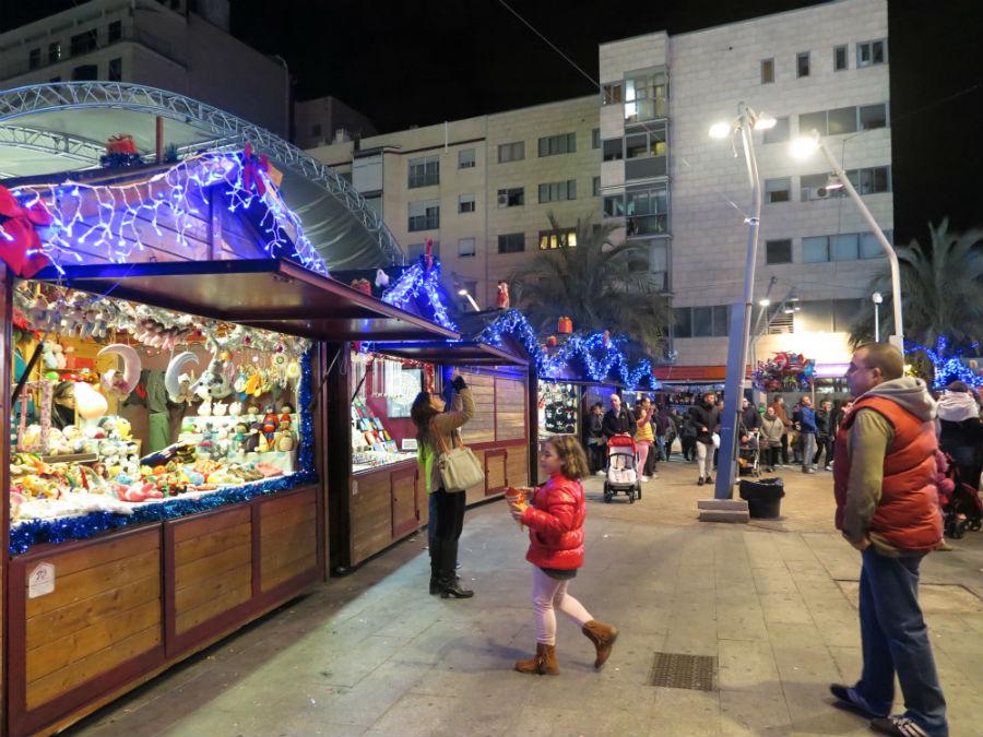 Mercadillo navideño en Torrejón de Ardoz