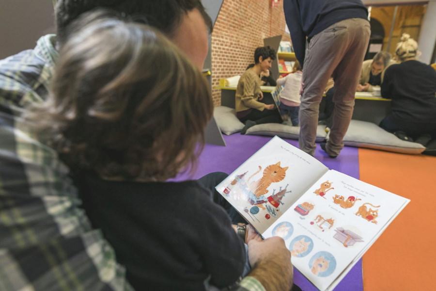 Taller de Navidad en el Centro Cultural Conde Duque de Madrid