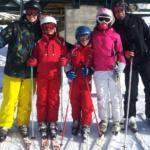 Cómo es esquiar en familia en Formigal