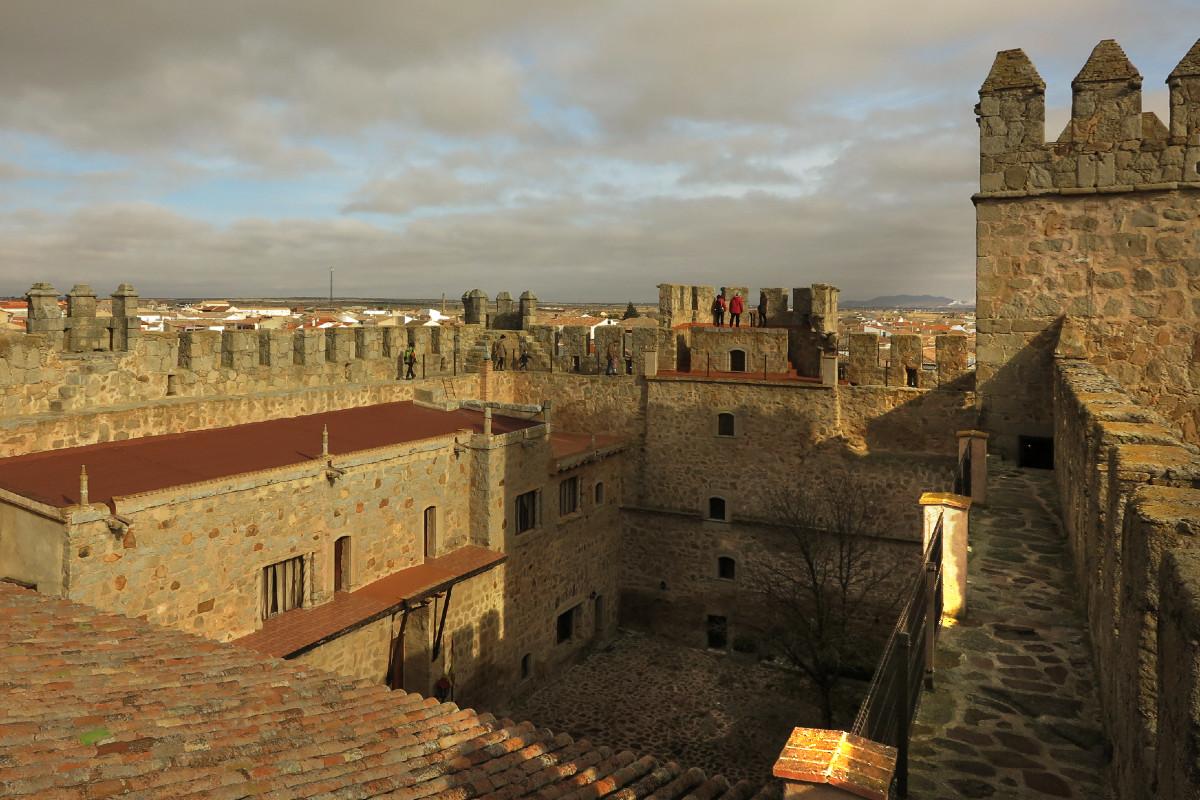 Patio de armas del Castillo de Orgaz