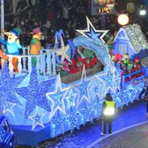 Carroza de la Cabalgata de Reyes de Torrejón de Ardoz