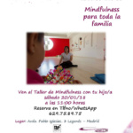 Taller de 'mindfulness' para toda la familia en Leganés