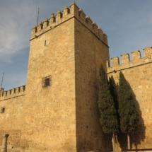 Detalle del exterior del Castillo de Orgaz
