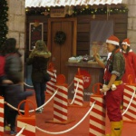 Una visita con niños a la casa de Papá Noel