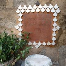 Lápida de Jere, en el Castillo de Orgaz