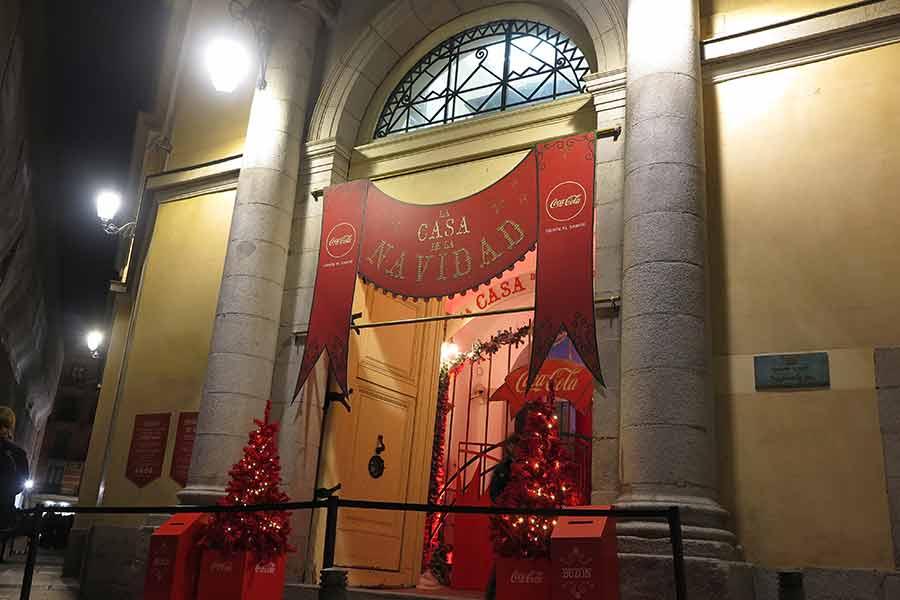 Puerta de la Casa de Papá Noel