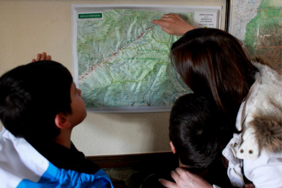 Rutas por el Valle del Jerte para hacer con niños