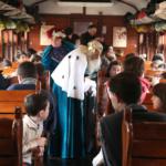 Tren de la Navidad de Madrid, con los Reyes Magos a bordo