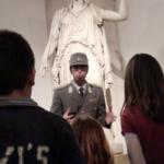 Actividad familiar en el Museo del Prado, en Madrid