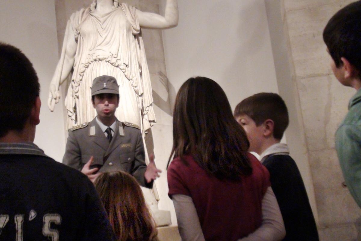 Actividad familiar en el Museo del Prado