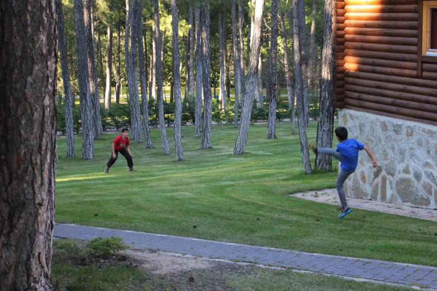 Instalaciones del Camping Cuencia, ideal para peques