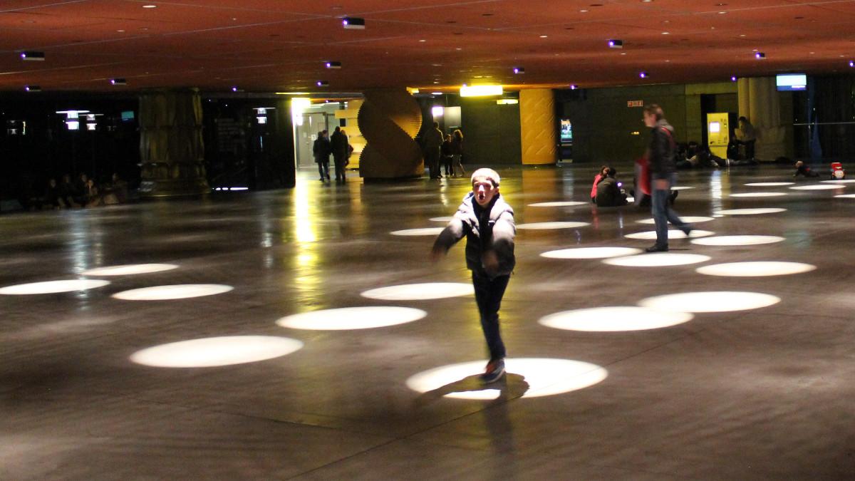 Sala de la Alhóndiga Bilbao, un lugar lleno de magia para peques