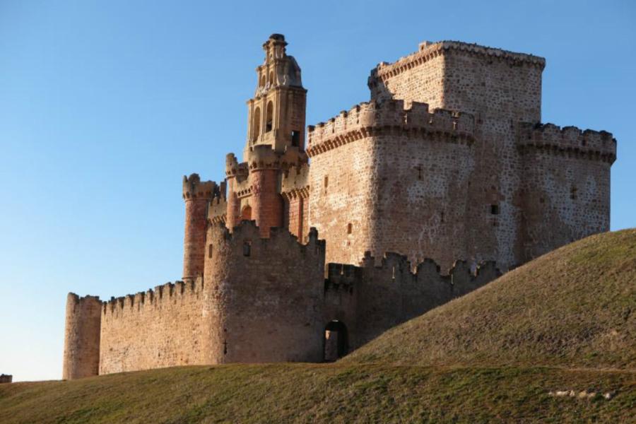 Vista del Castillo de Turégano