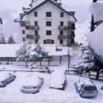 Vistas desde una de las habitaciones del hotel Nievesol de Formigal