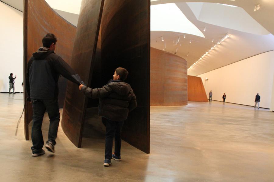 El Guggenheim de Bilbao es uno de esos museos que 'enamora' a los peques