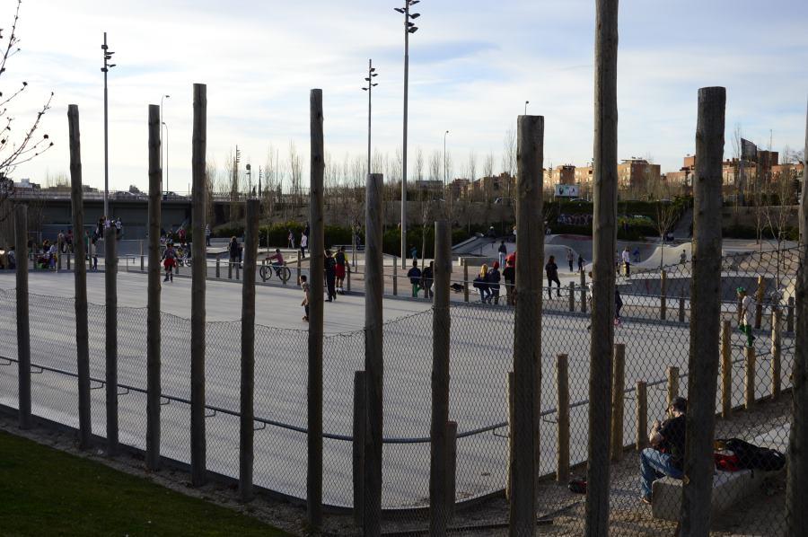 Pistas de skate del Madrid Río
