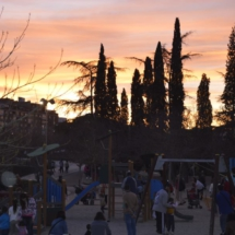 Parque infantil del Madrid Río