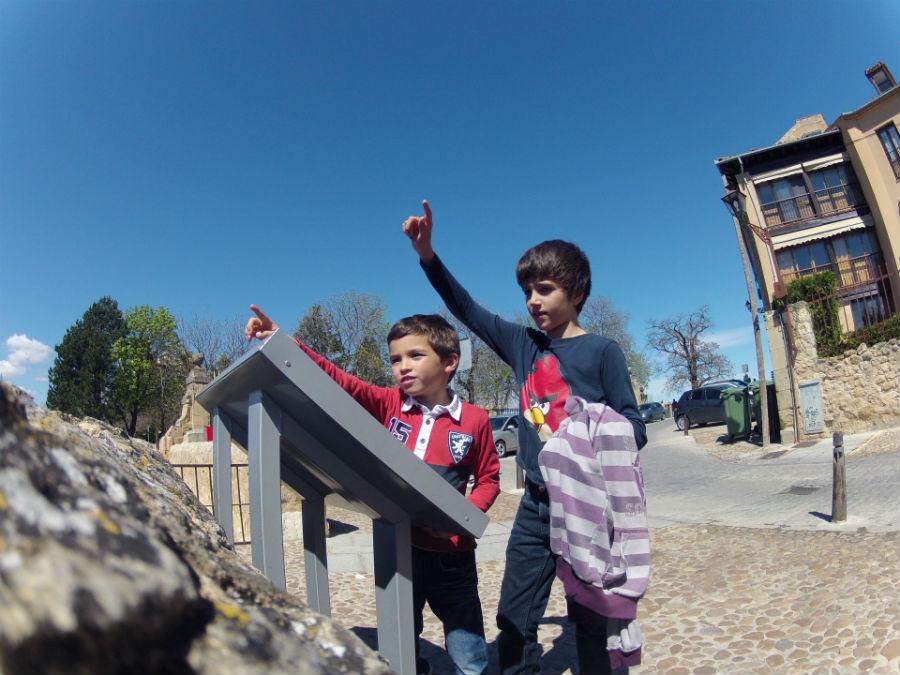 Ruta por Segovia con los niños y con una GoPro