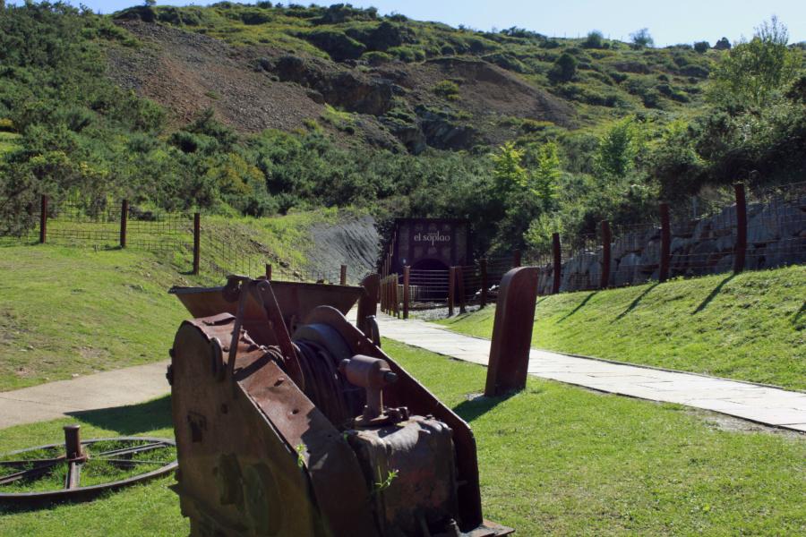 Entorno de la Cueva El Soplao, en Cantabria