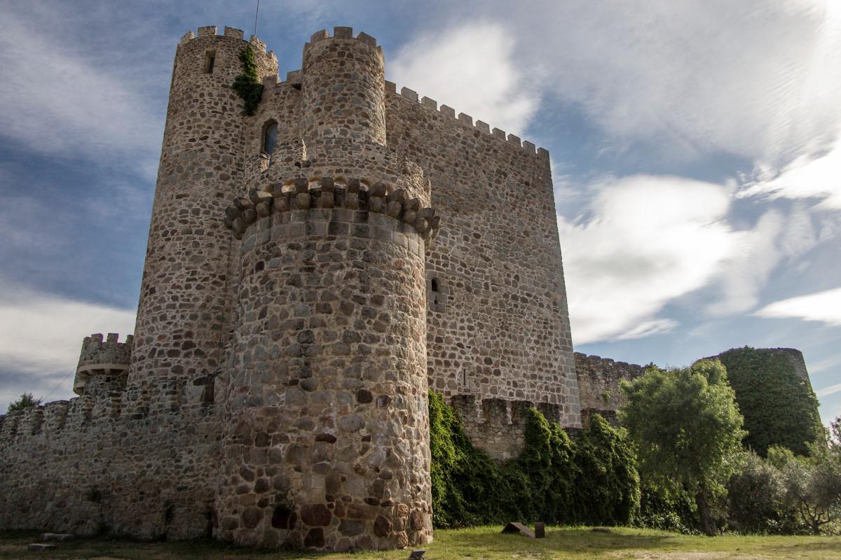 Torre del Castillo de la Coracera, en la provincia de Madrid