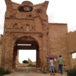 Facha en ruinas de Belchite