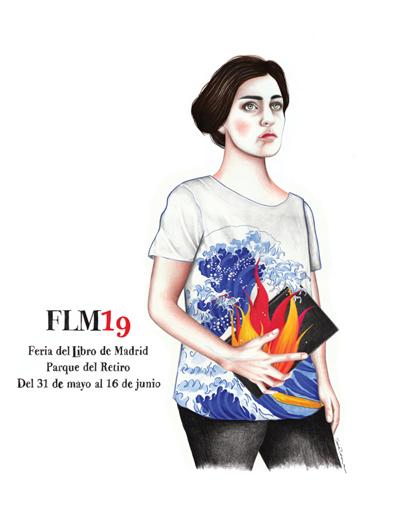 Cartel de la Feria del Libro de Madrid. Sara Morantes.