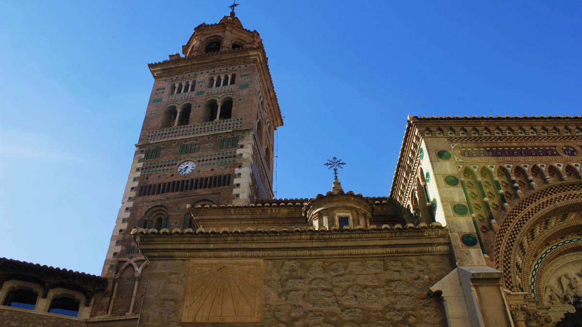 La catedral de Teruel es una de las más llamativas de España