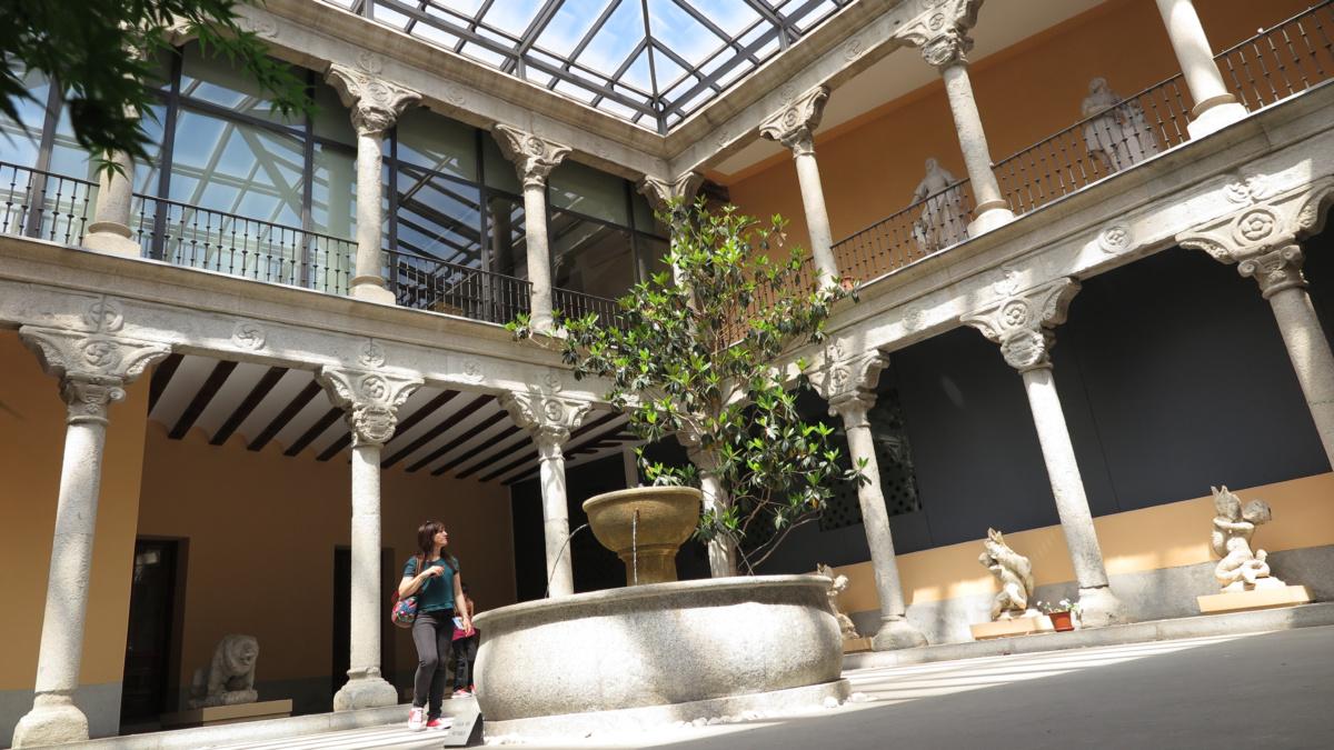 Patio del Museo de San Isidro