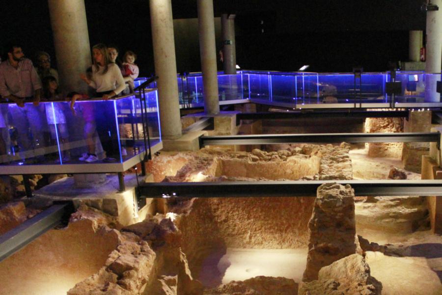 Yacimiento arqueológico 'Gadir', en Cádiz