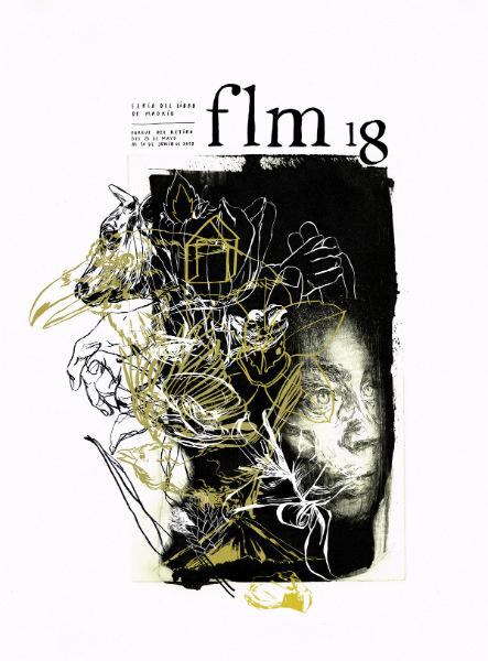 Cartel de la Feria del Libro de Madrid, 2018, creado por Paula Bonet