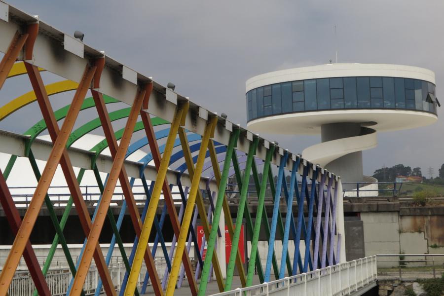 Así es el Centro Niemeyer de Avilés