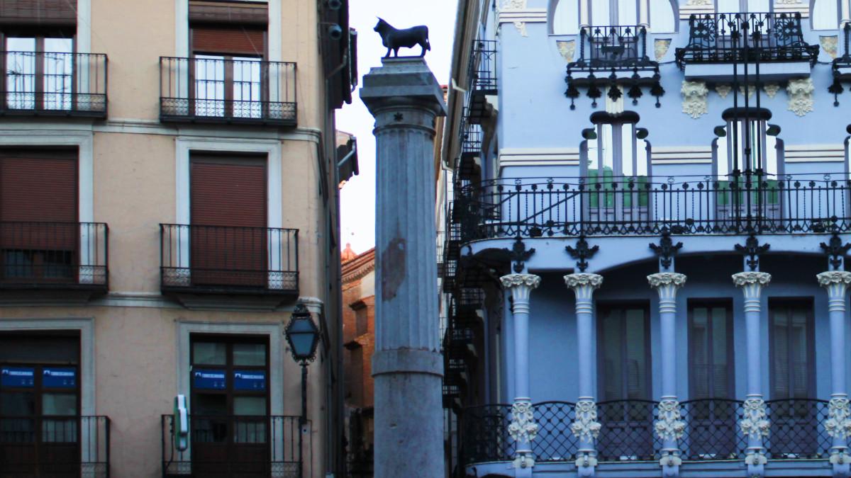 Detalle del Torico de Teruel