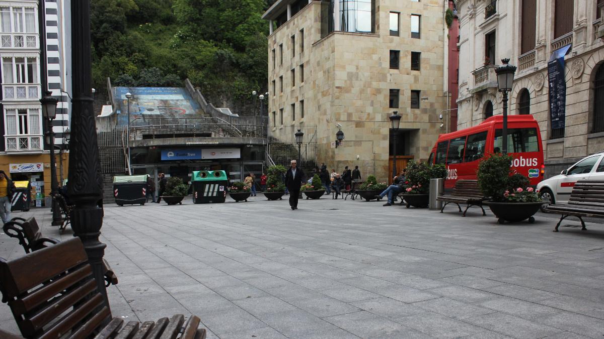 Plaza del Casco Viejo de Bilbao