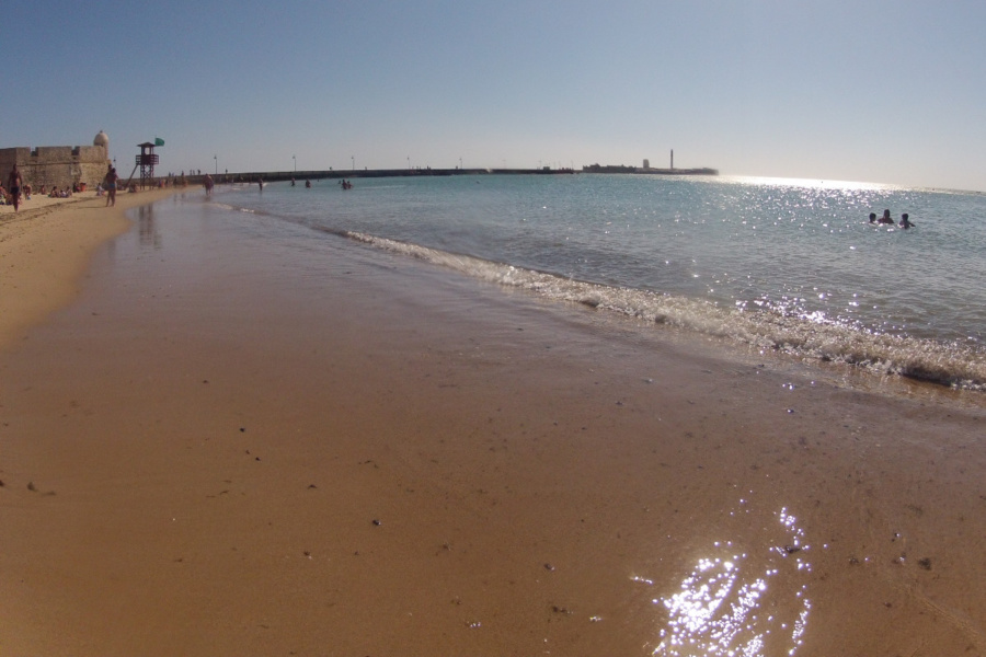 Vista de la Playa de La Caleta