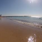 Cómo es la playa urbana de La Caleta, en Cádiz