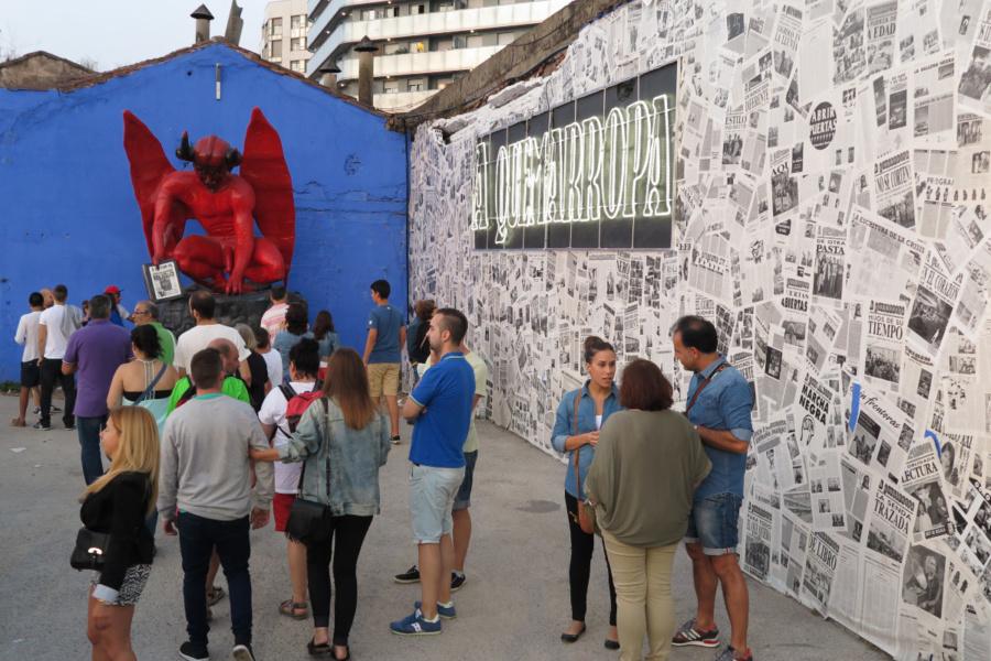 La Semana Negra es un encuentro literario que llena de cultura la ciudad de Gijón