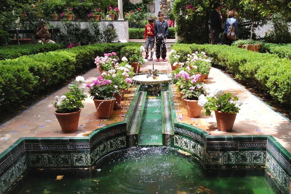 Jardín del Museo Sorolla de Madrid