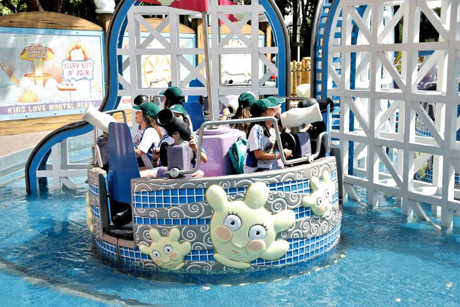 'Splash Bash', es la nueva atracción infantil del Parque de Atracciones de Madrid
