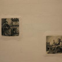 Fotos antiguas en una auténtica barraca valenciana